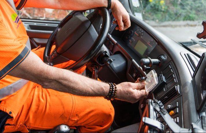 tijdregistratie chauffeursregistratie